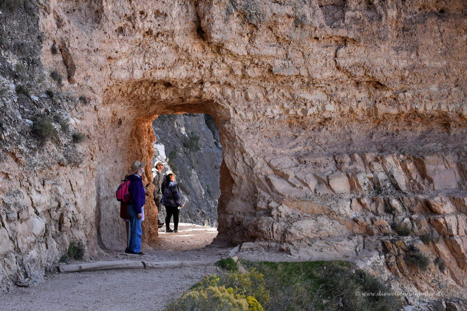 Auf dem Weg in den Canyon
