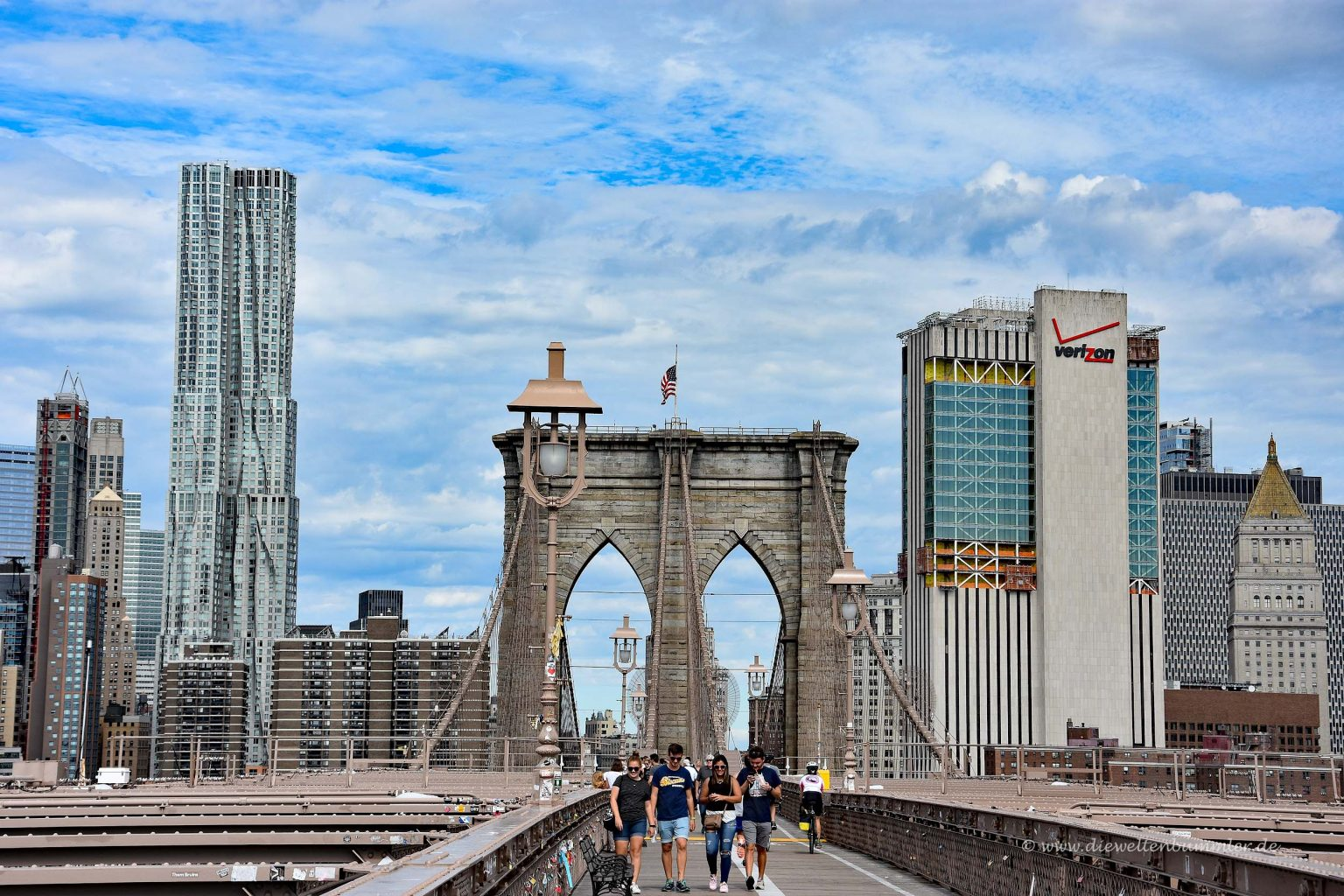 Blick auf Manhattan