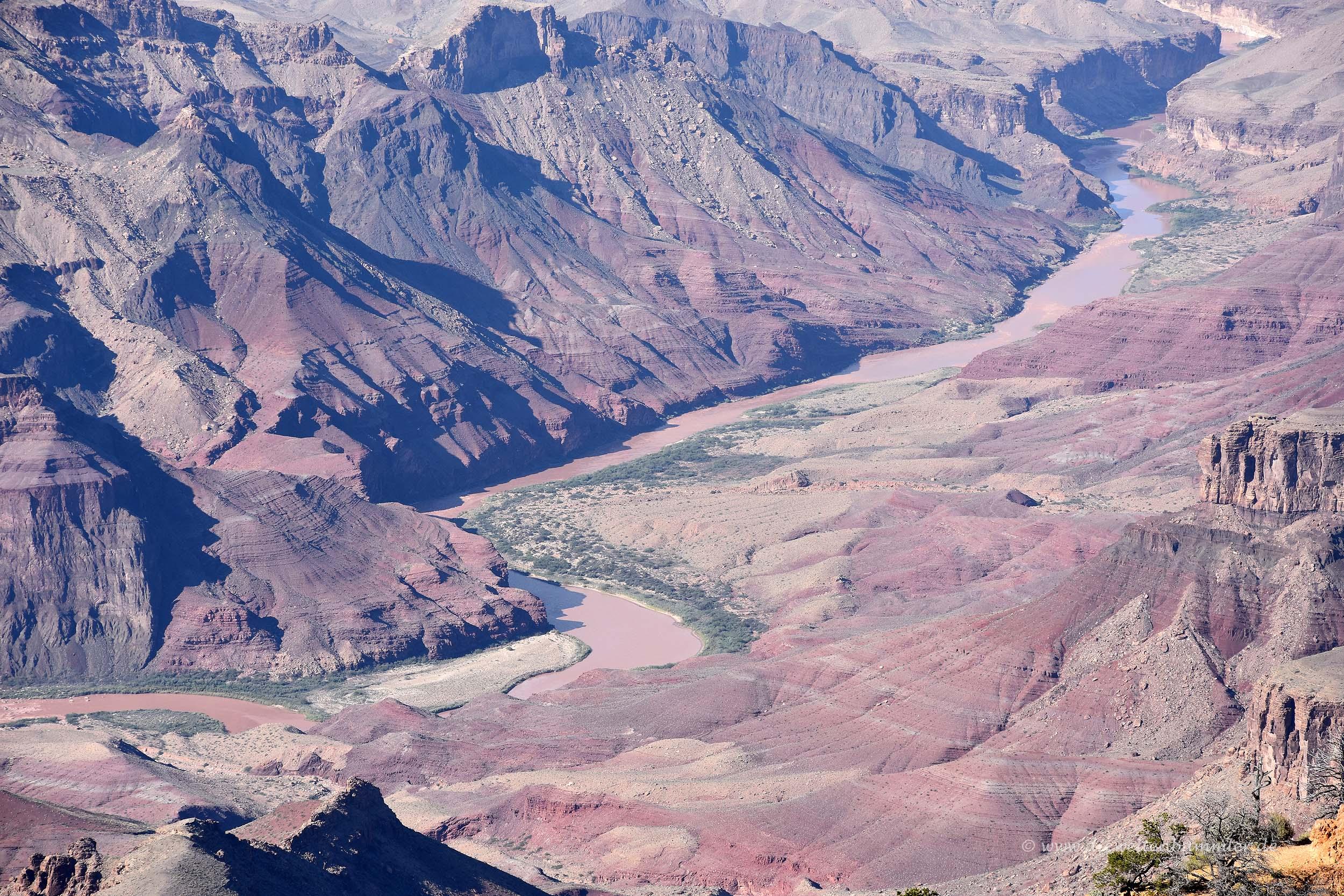 Blick zum Colorado River