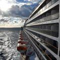 Die Queen Mary 2 auf hoher See