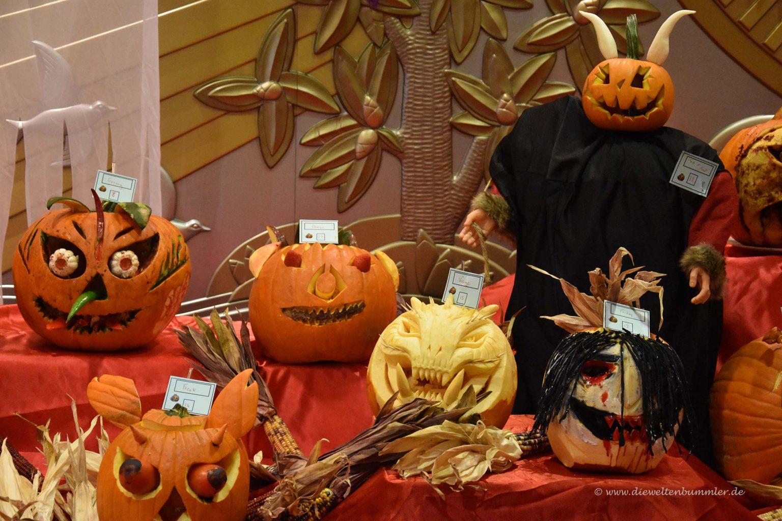 Kürbisse an Halloween