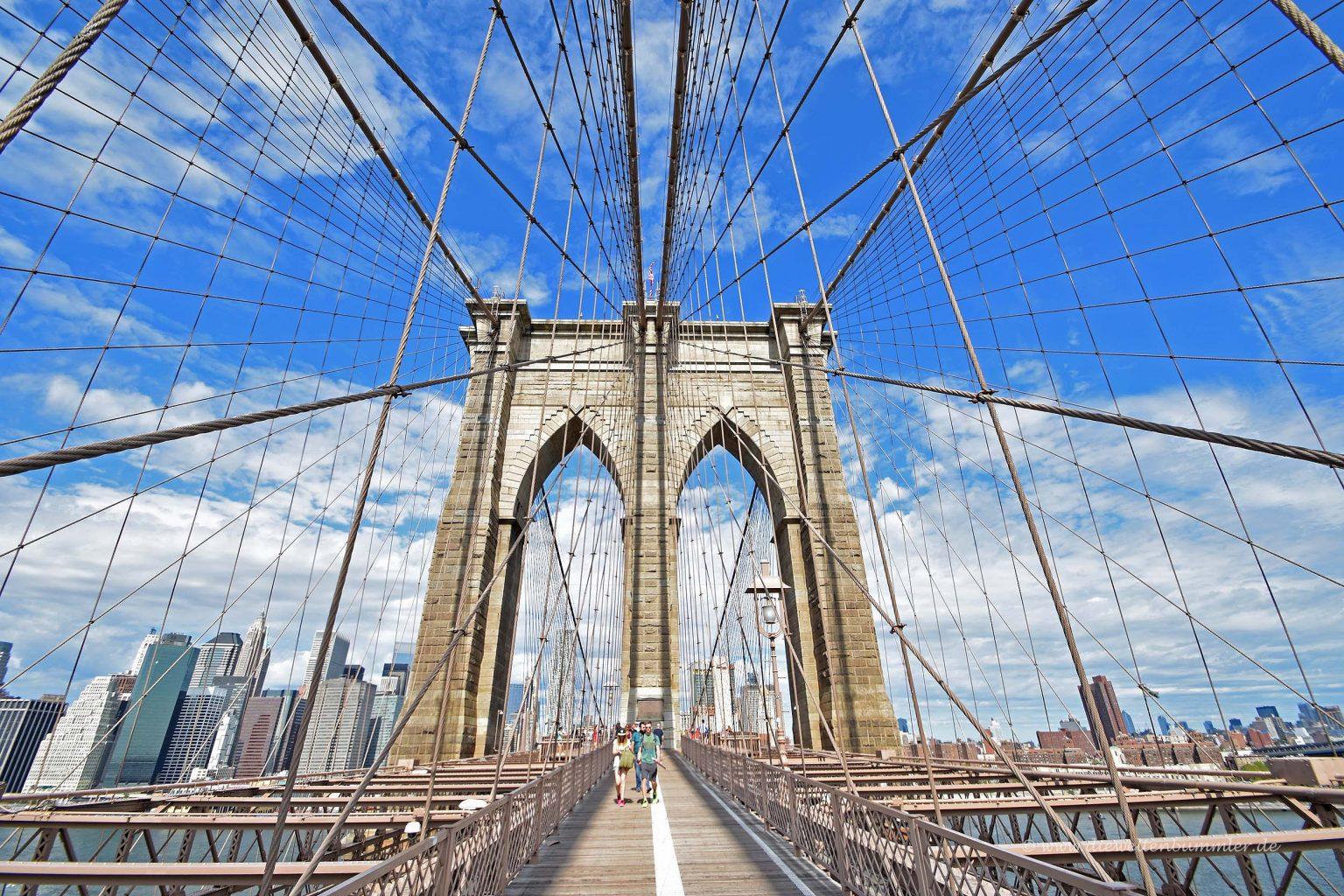 Pfeiler der Brücke