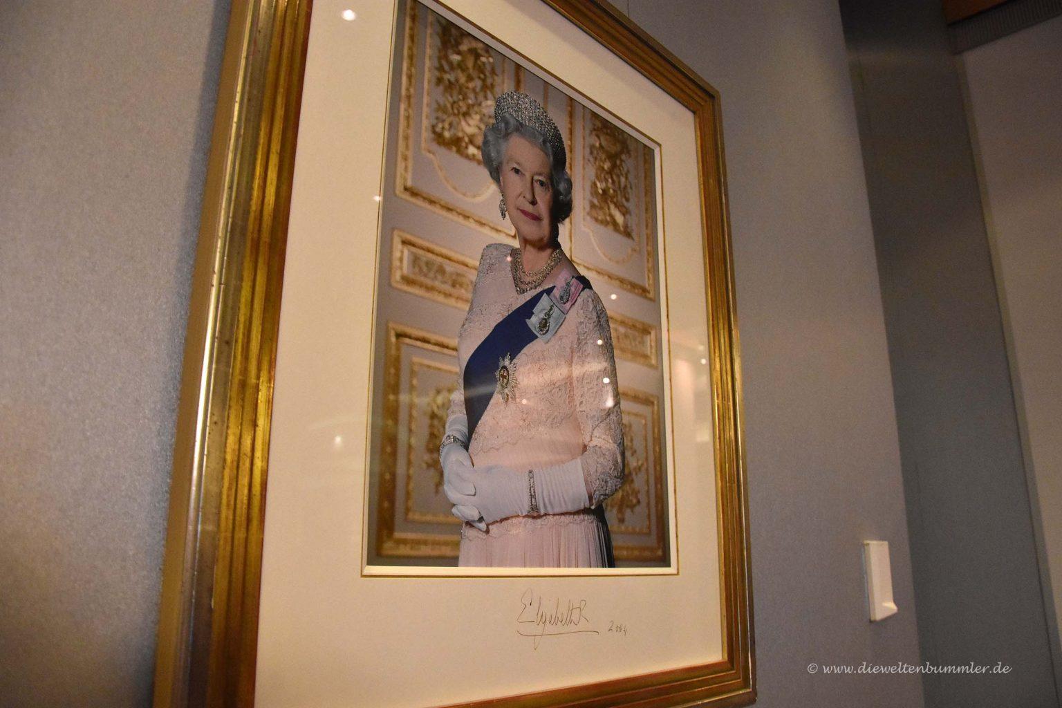 Queen Elizabeth darf nicht fehlen