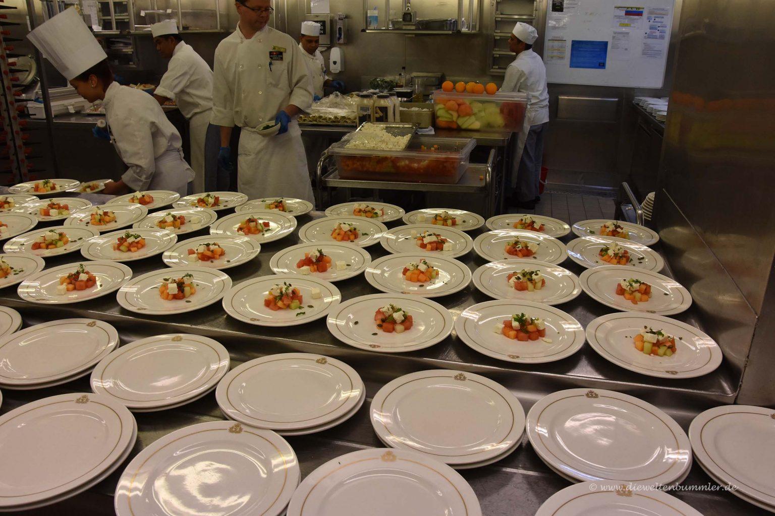 Vorbereitete Speisen