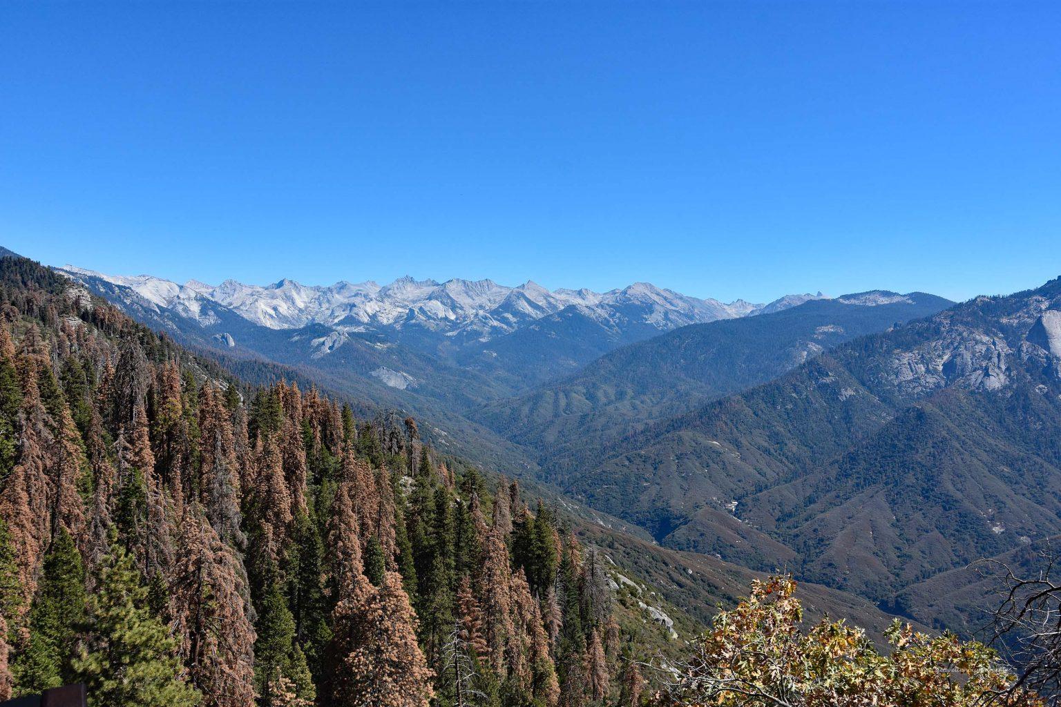 Berge der Sierra Nevada