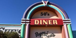 Das Peggy Sues Diner in Kalifornien