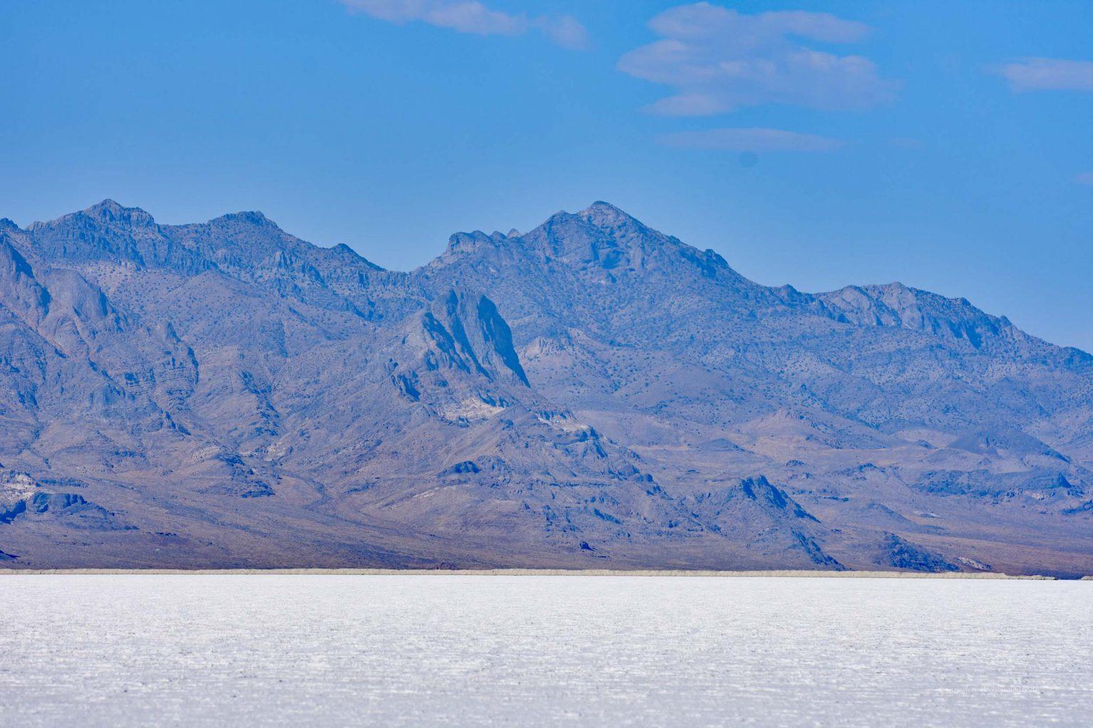 Gebirge am Salzsee
