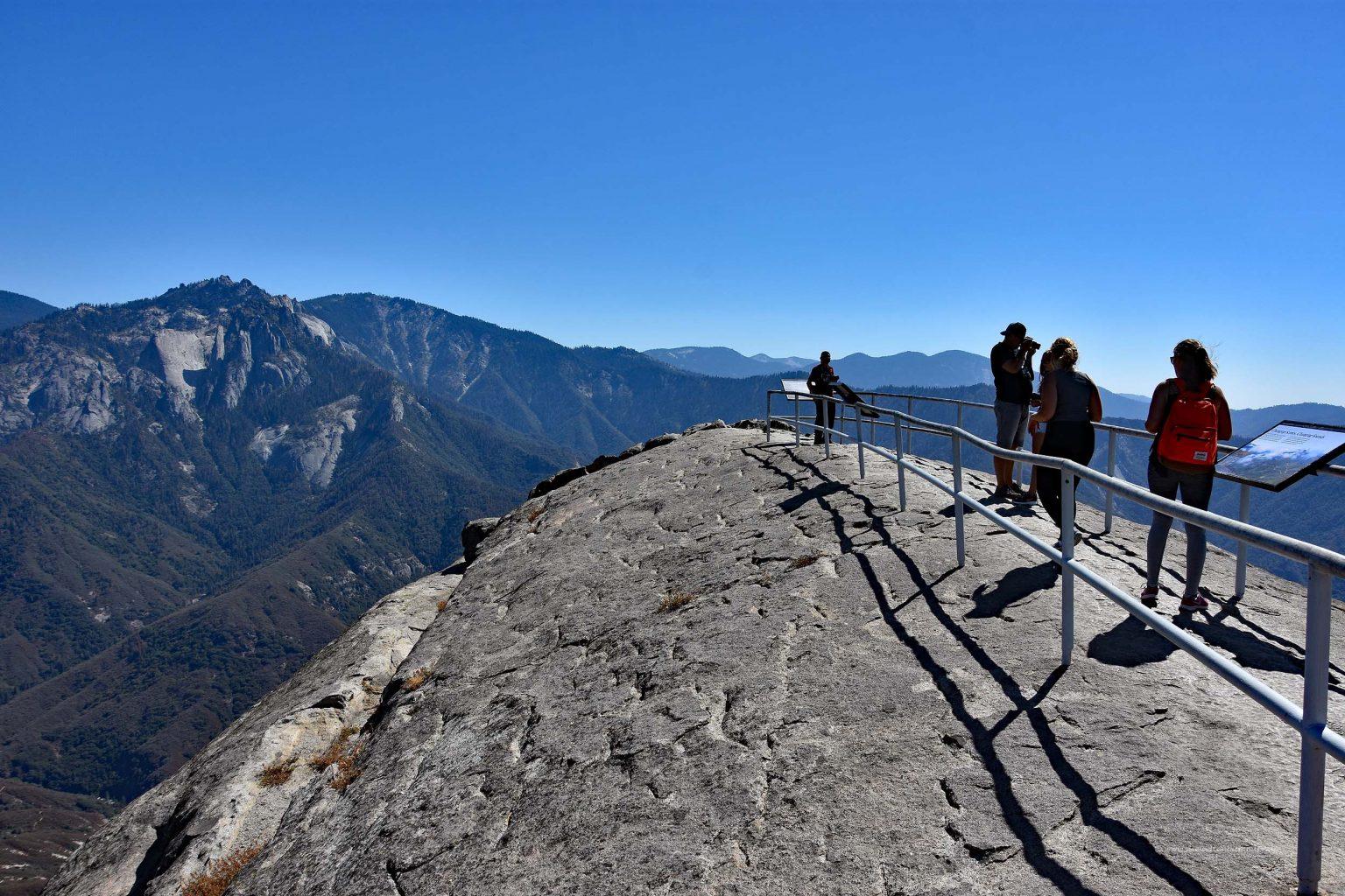 Gipfel des Moro Rock