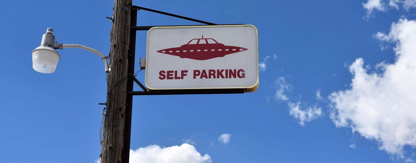 Parken für Außerirdische