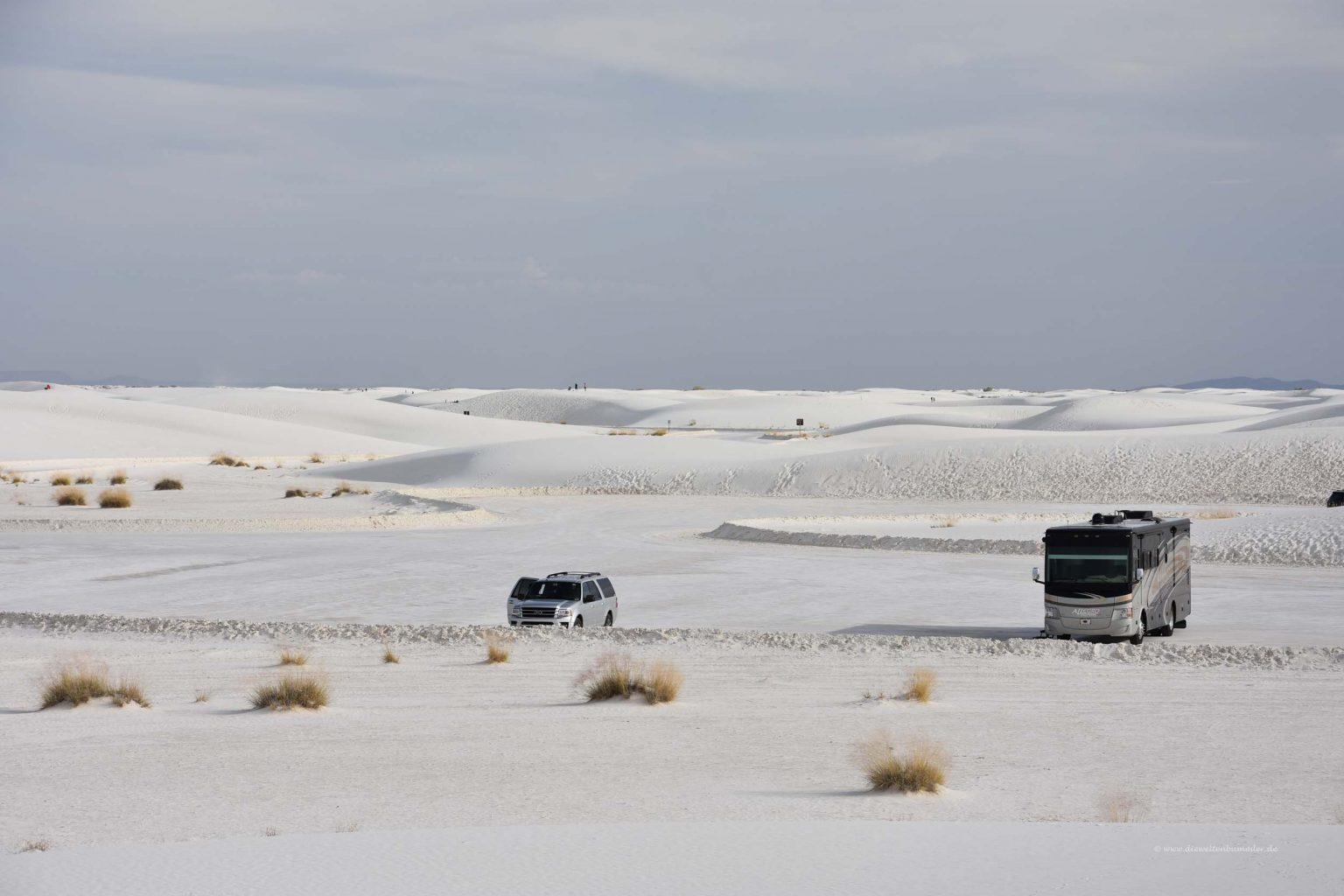 Parkplatz im White Sands