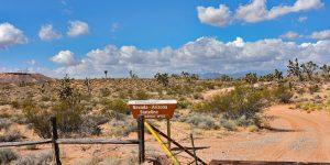 Staatsgrenze zwischen Arizona und Nevada