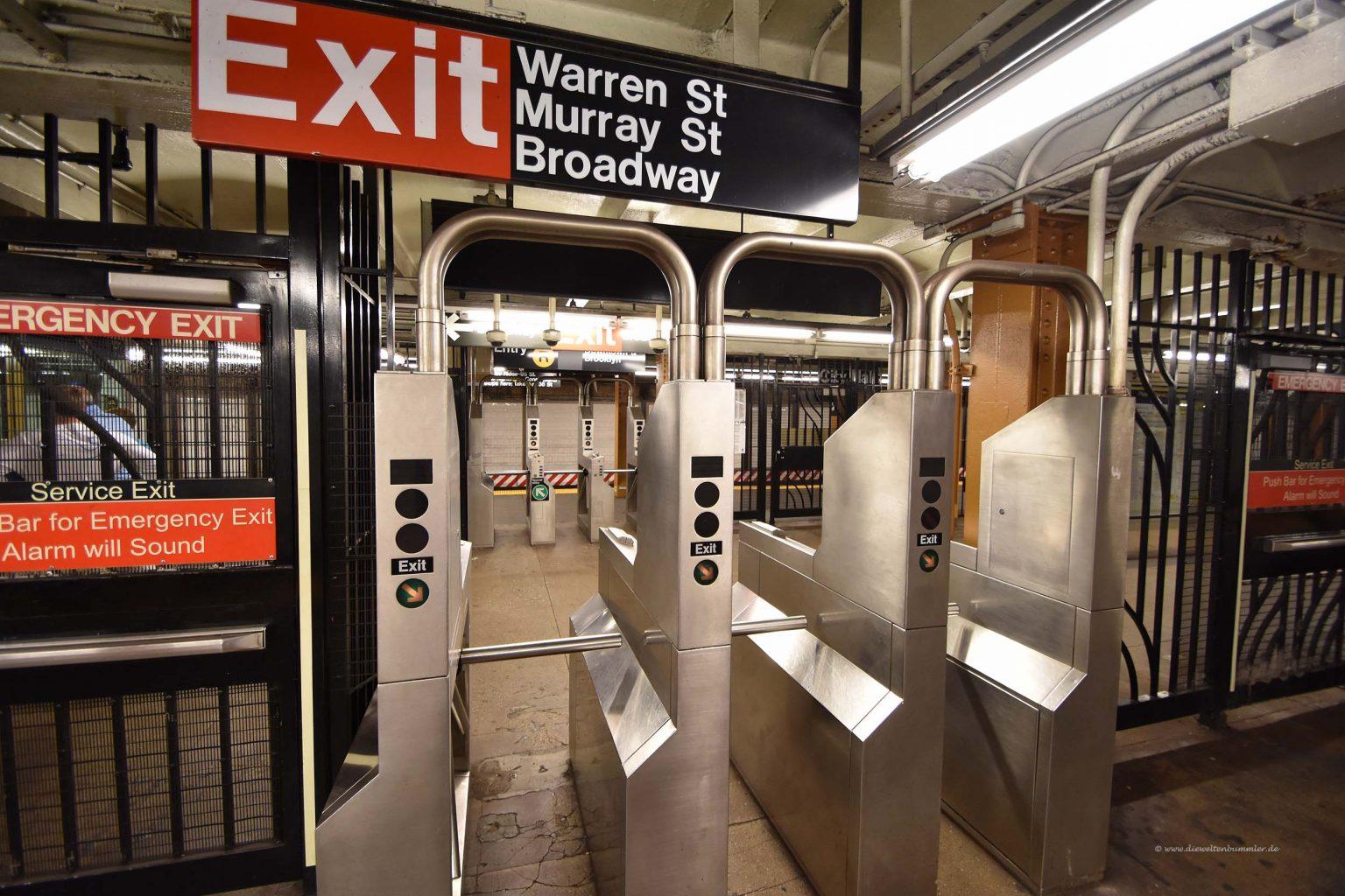 U-Bahn-Ausgang