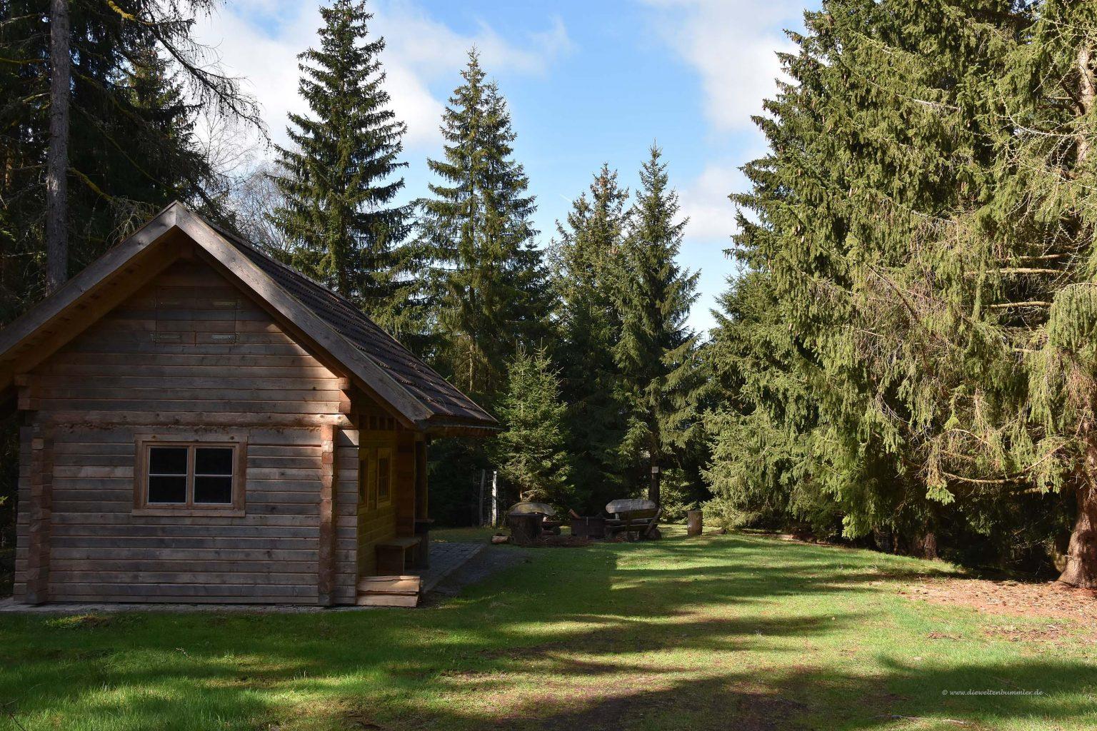 Wanderhütte auf dem Kapitelsberg