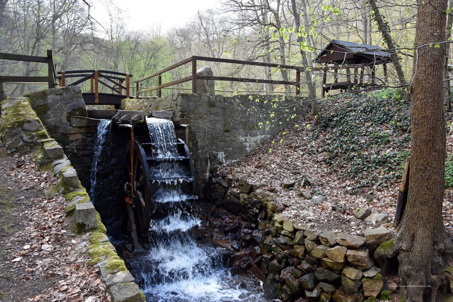 Wasserrad im Harz