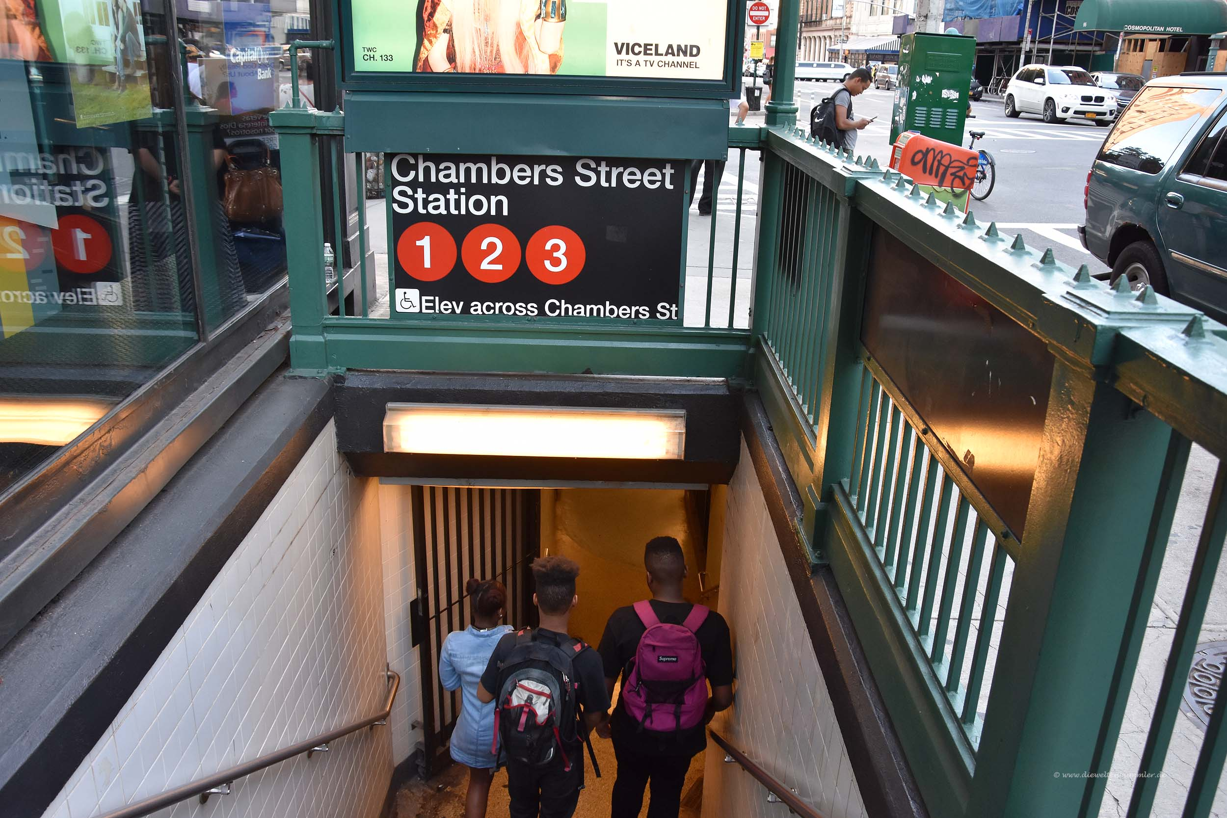 Zugang zur Subway