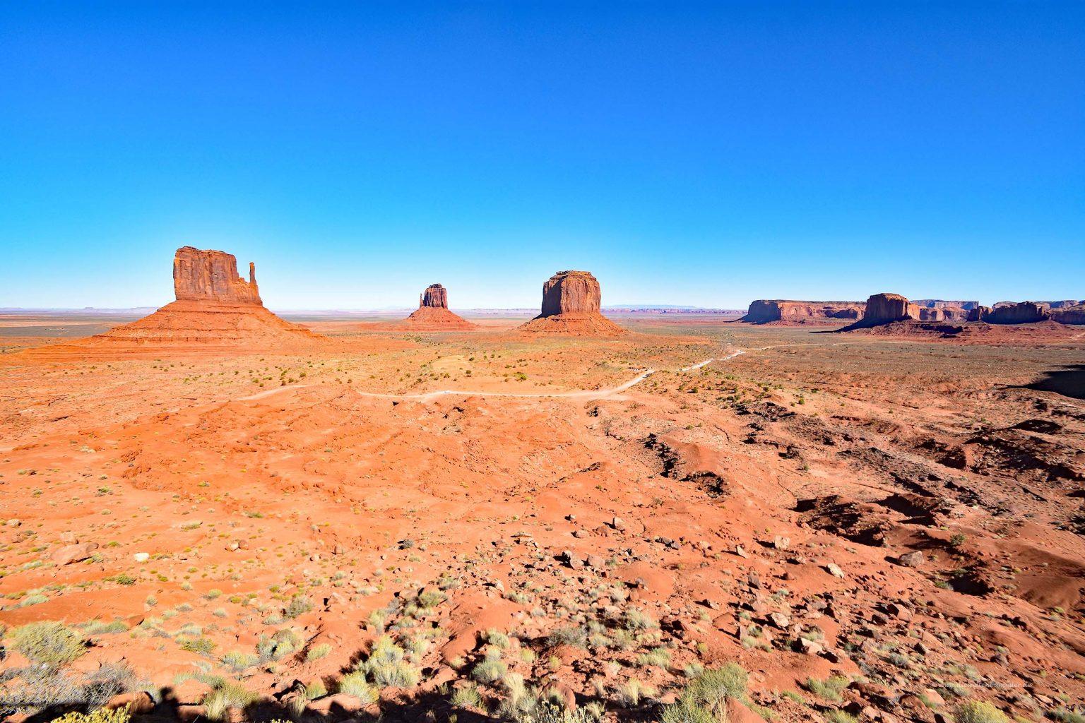 Überblick über das Monument Valley
