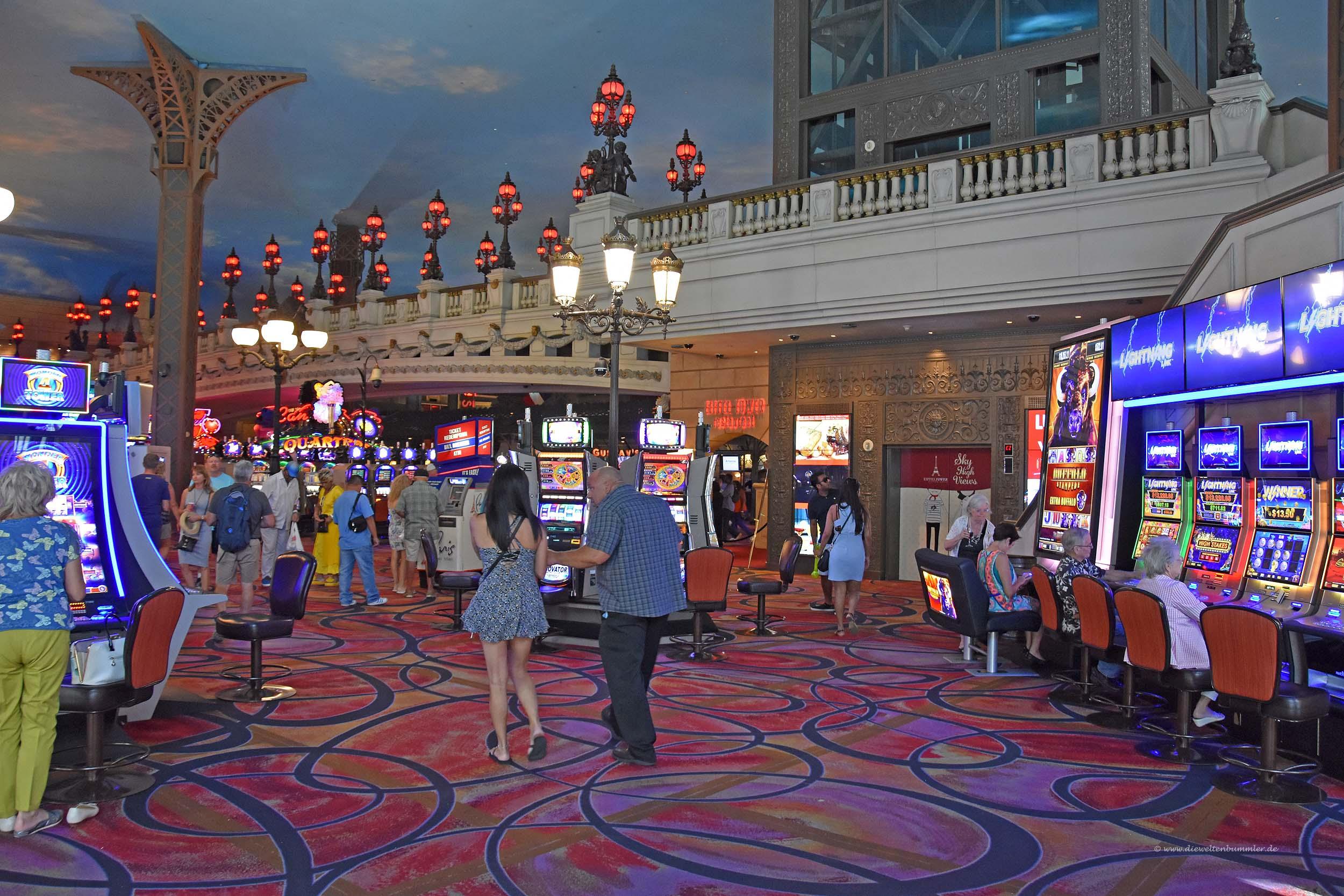 Casino im Hotel Paris