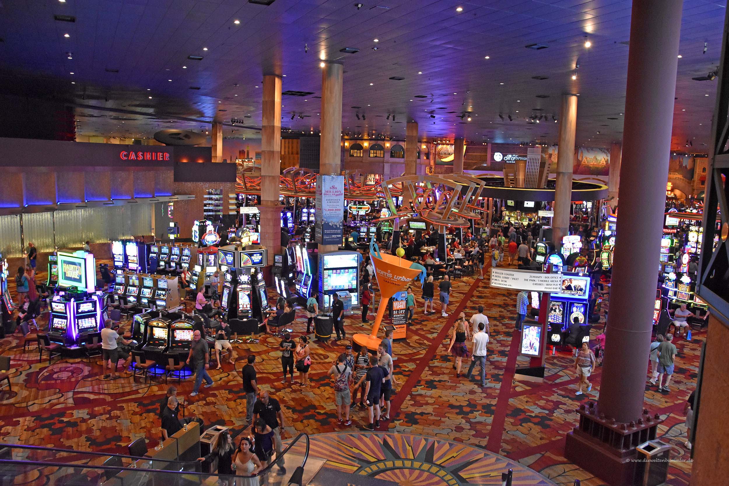 Casino vom Hotel New York