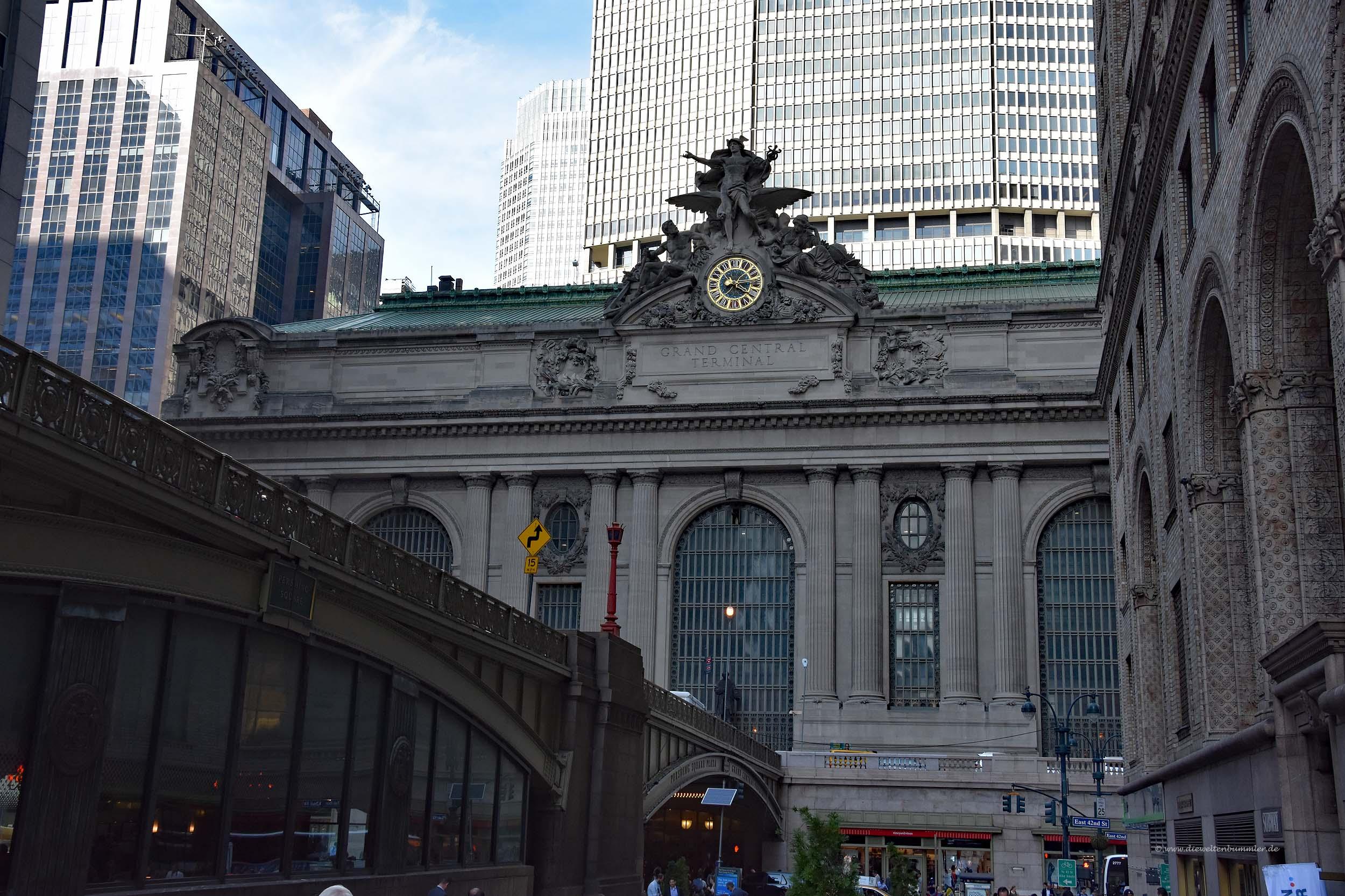 Grand Central Terminal von außen