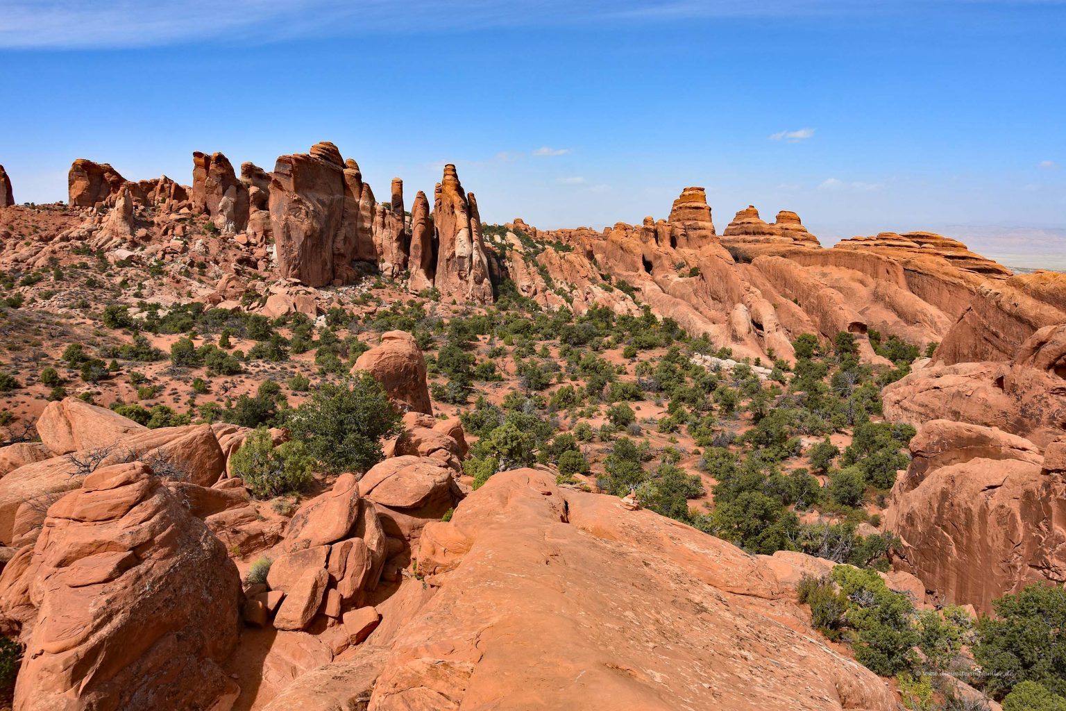 Landschaft im Arches Nationalpark