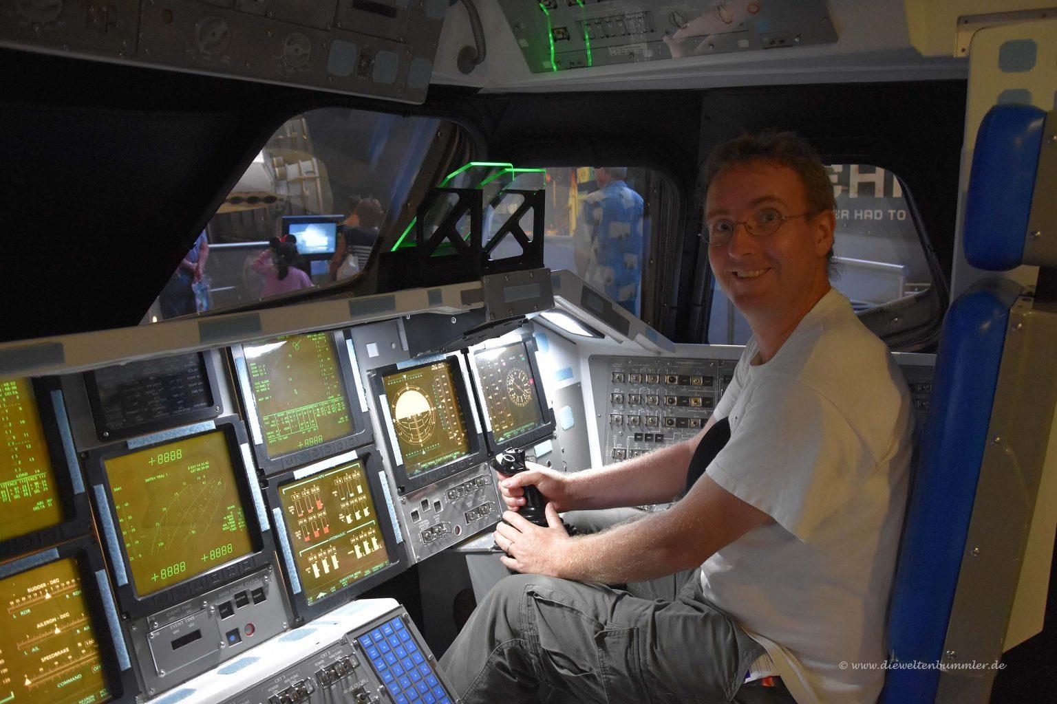 Ich als Kommandant der Atlantis