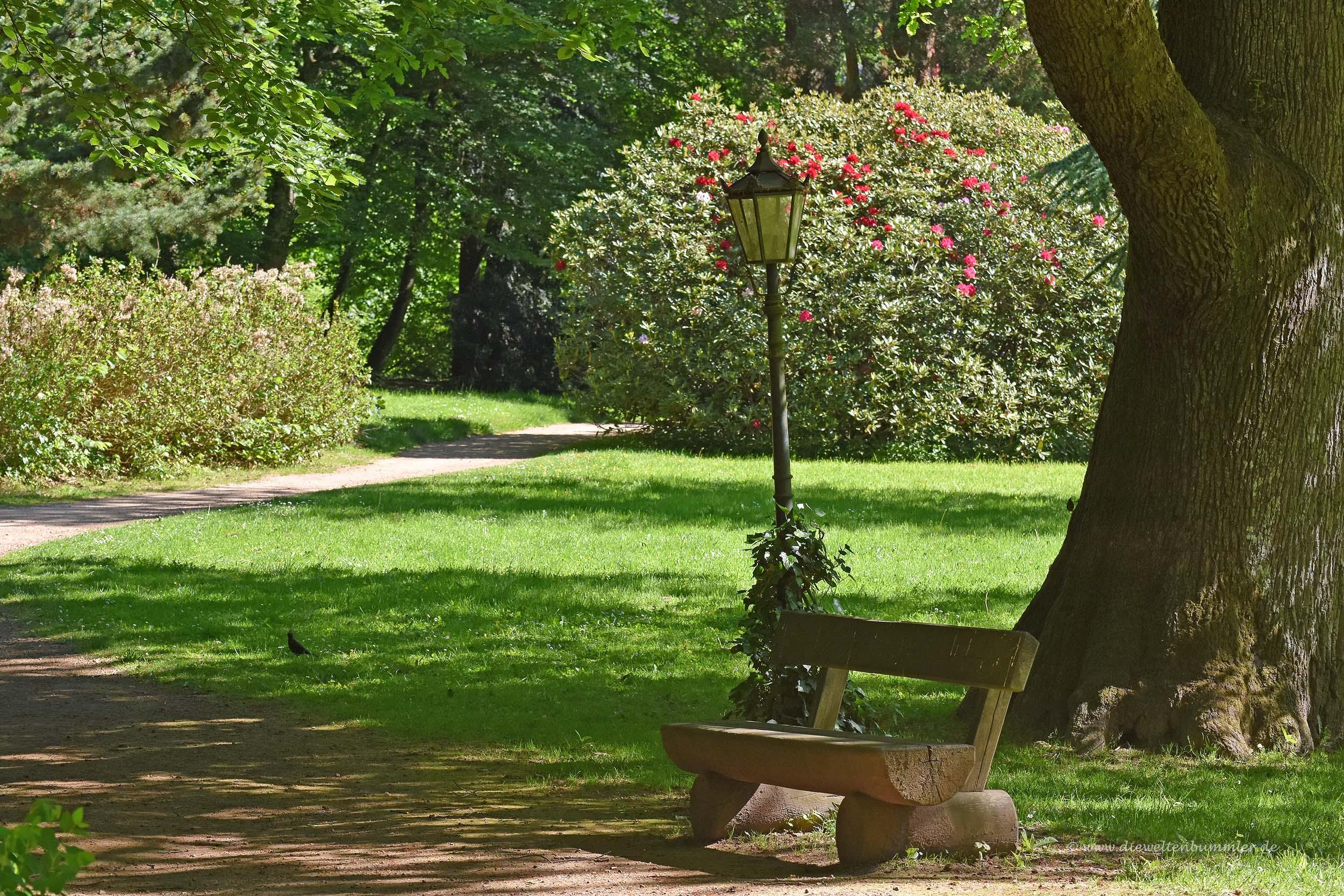 Park vom Schloss Heiligenhoven