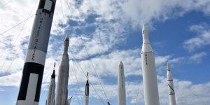 Raketen im Rocket Garden