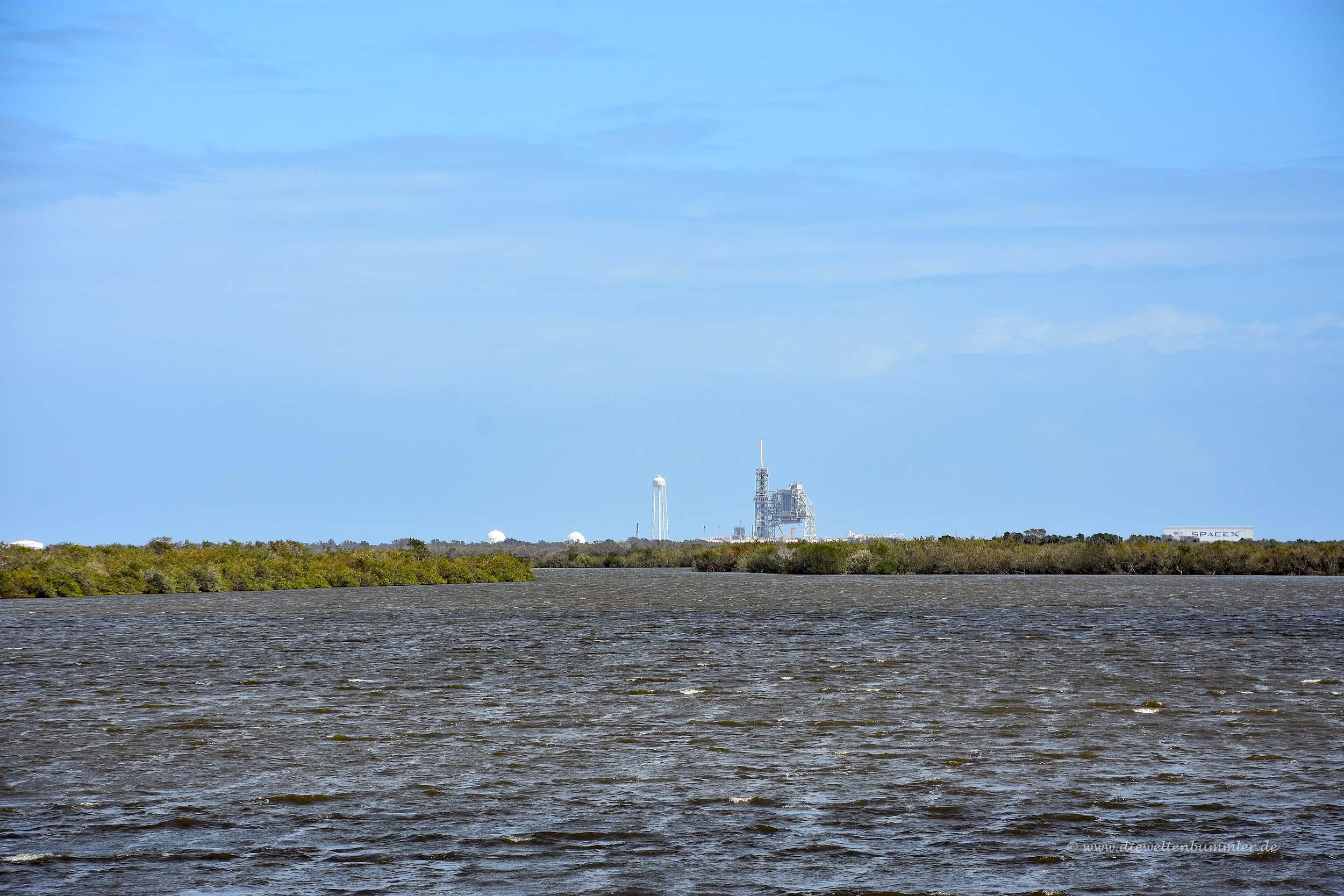 Startkomplex für Apollomissionen und Space Shuttle