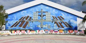 Wandgemälde für die ISS