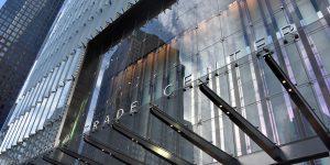 Eingang des neuen WTC