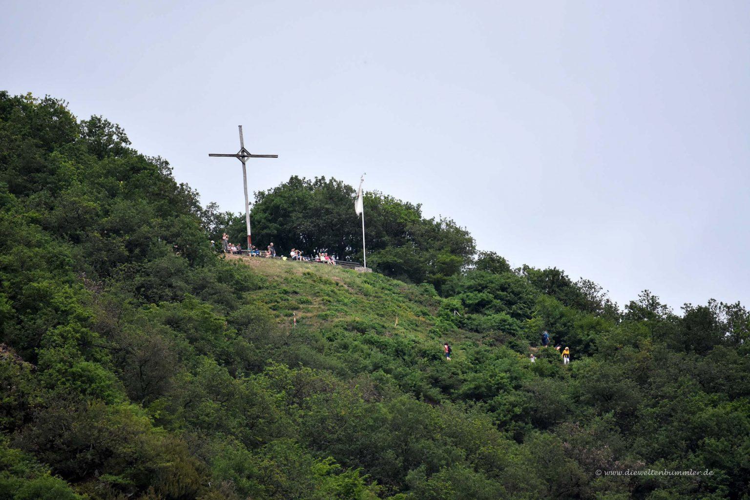 Gipfelkreuz des Calmont