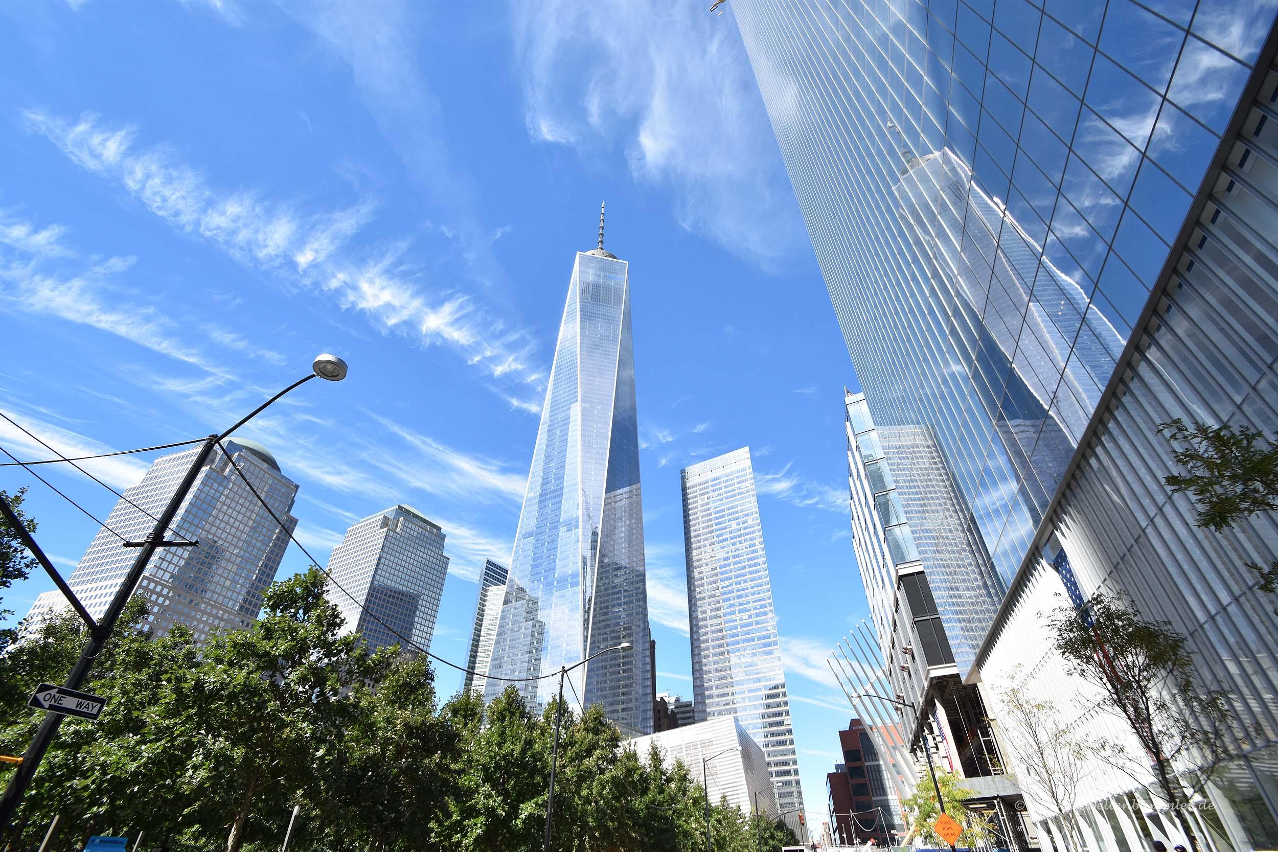 Hochhäuser rund um Ground Zero