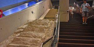 Letzter Fluchtweg über diese Treppe