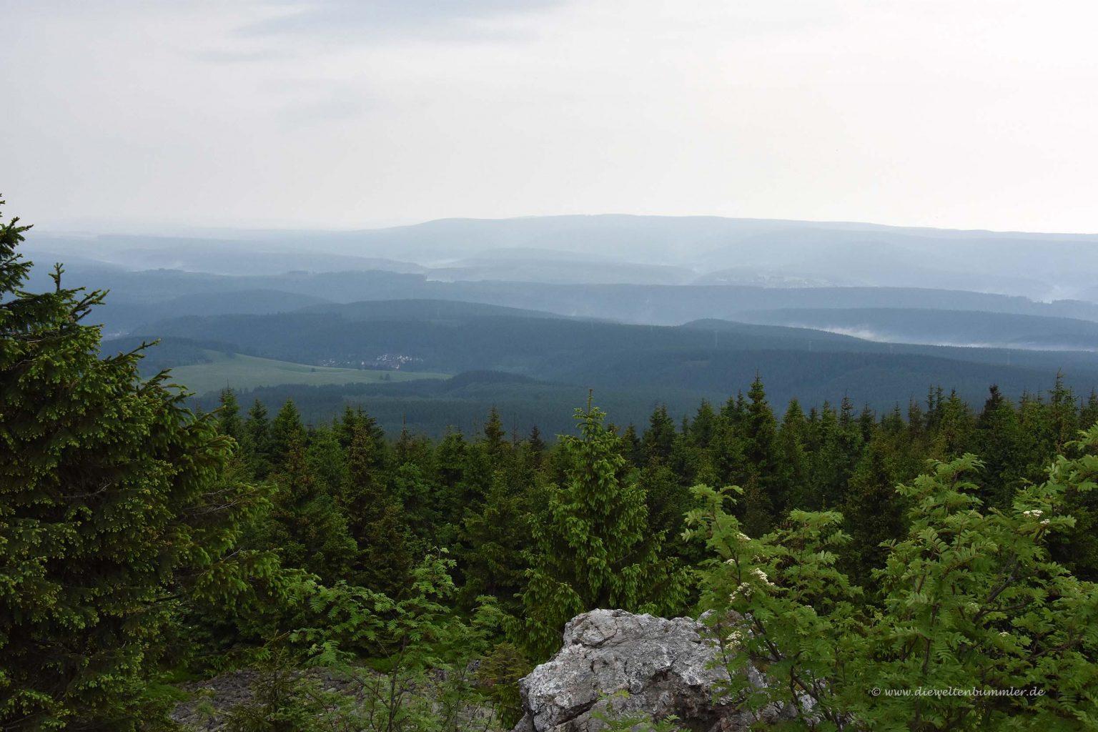 Panorama von der Wolfswarte
