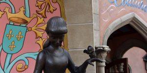 Cinderella-Skulptur