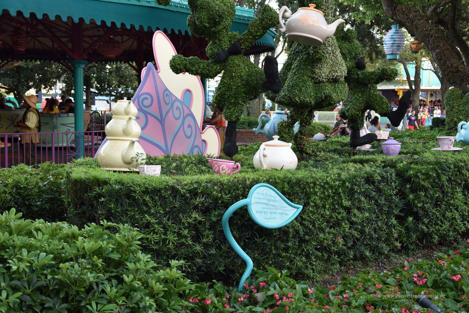 Irrgarten von Alice im Wunderland