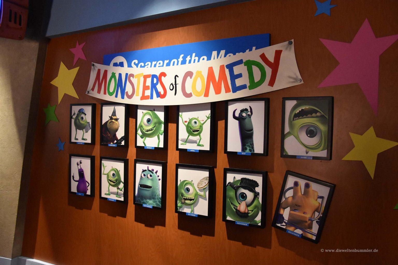 Wartebereich zur Monster-Akademie