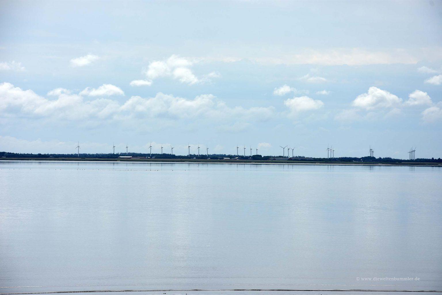 Blick zum dänischen Festland