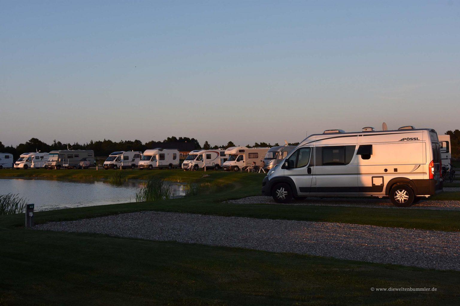 Stellplatz auf der Insel Römö