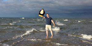 Michael Moll mit Pingu