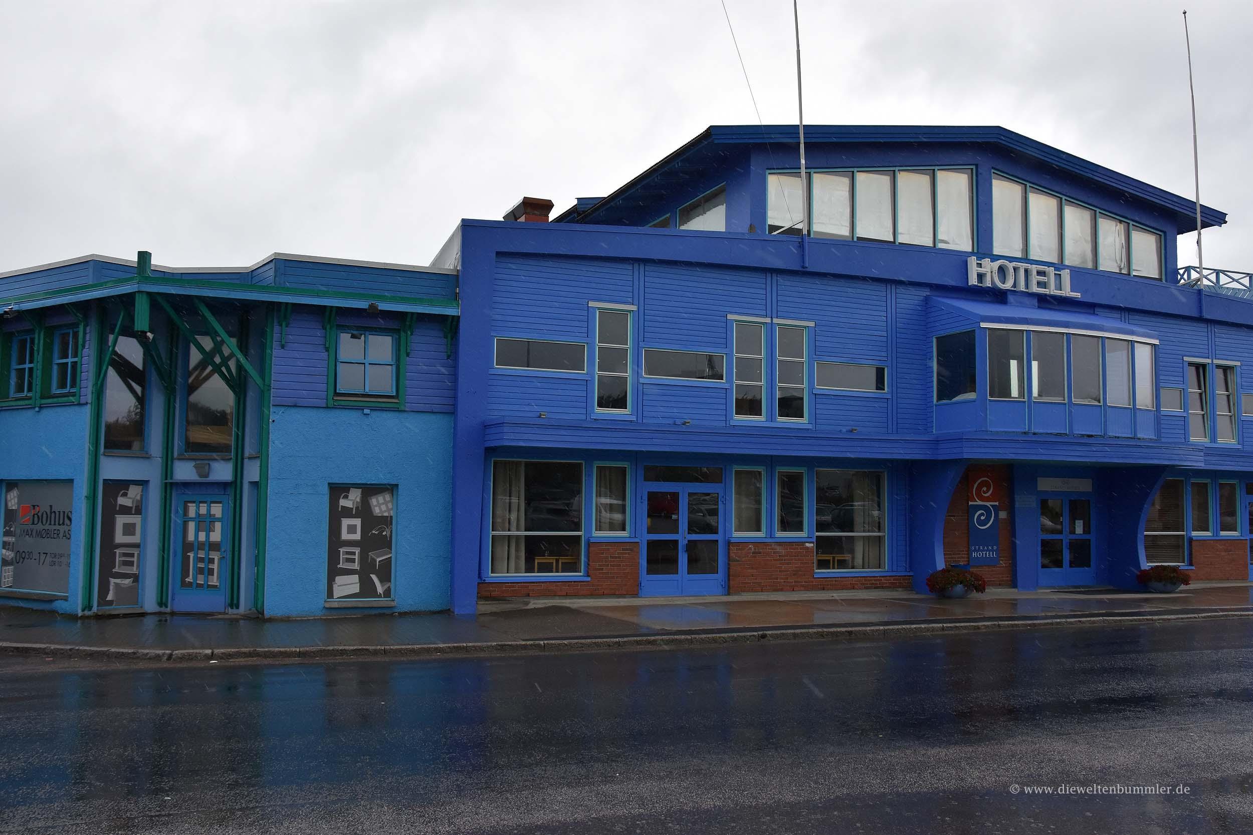 Blaue Häuser blaue häuser in sortland die weltenbummler