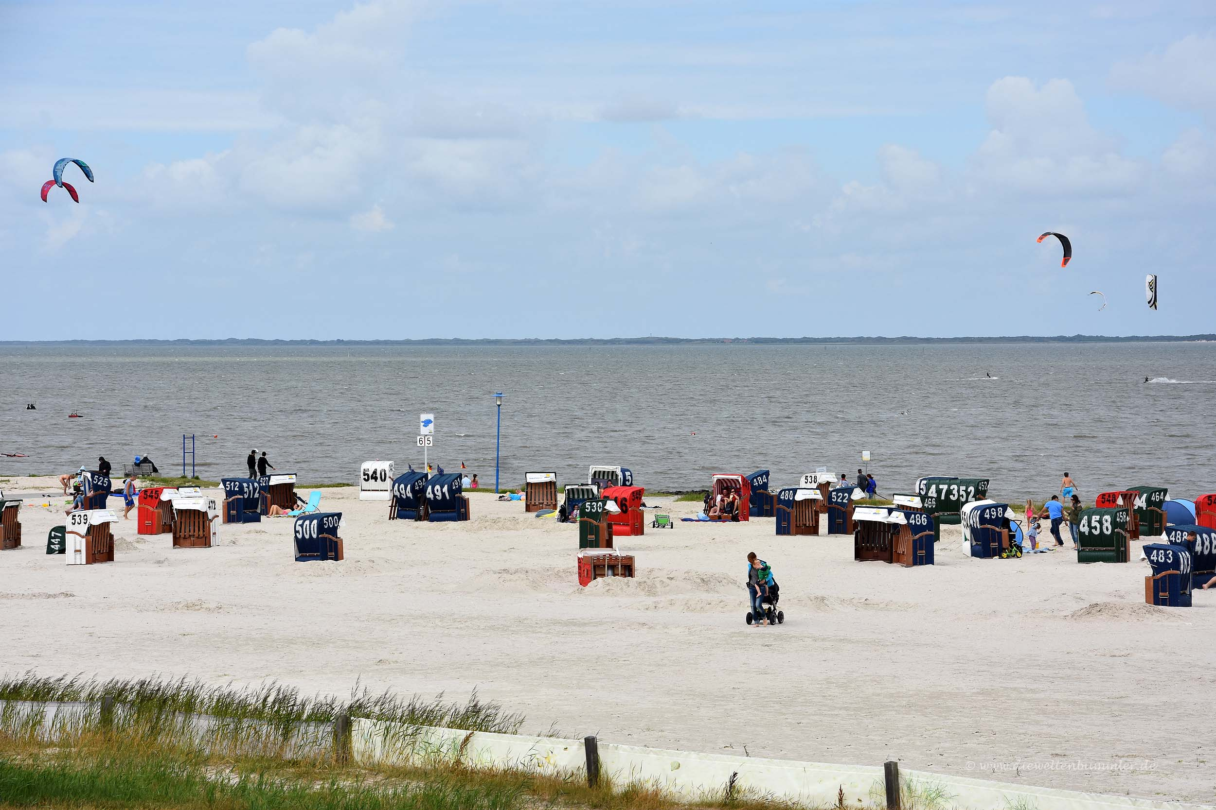 Strand in Neuharlingersiel