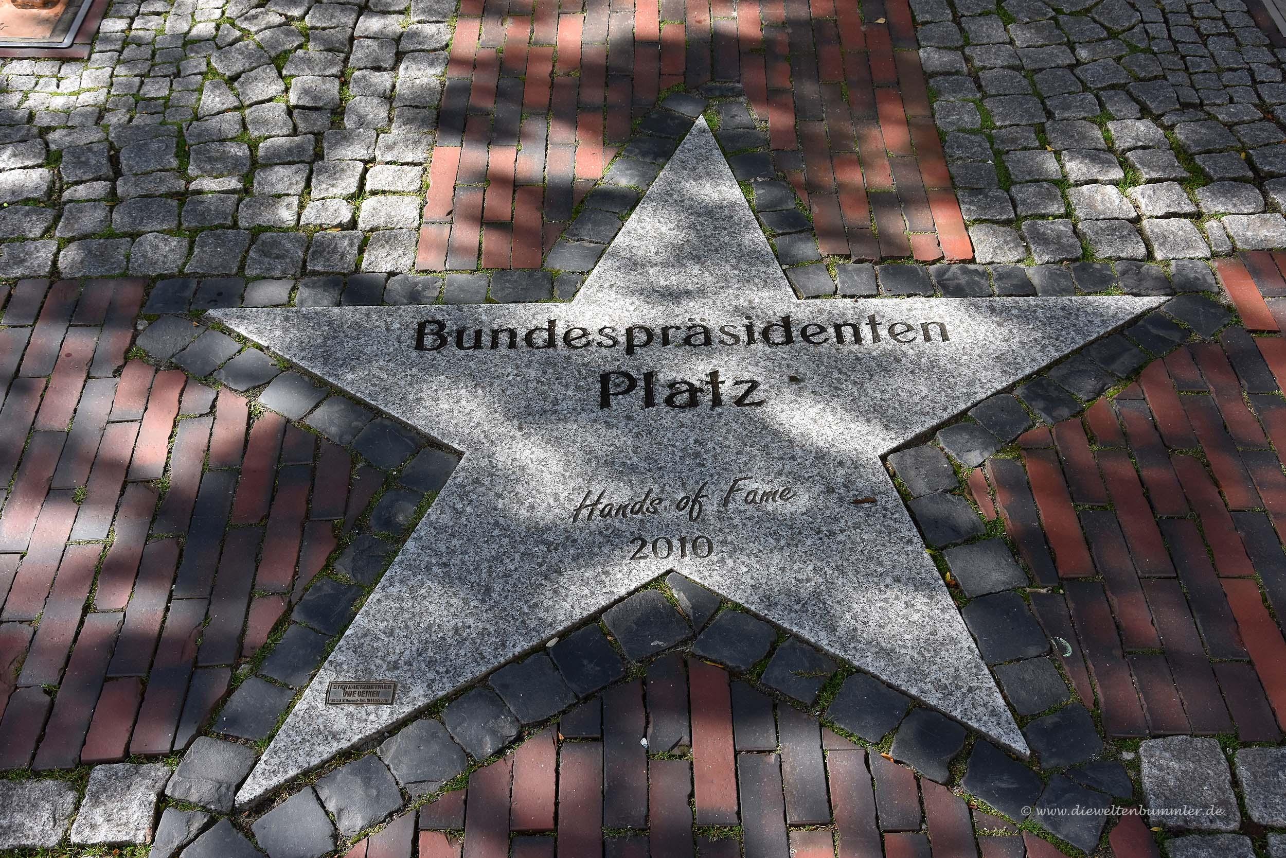Bundespräsidentenplatz in Wittmund
