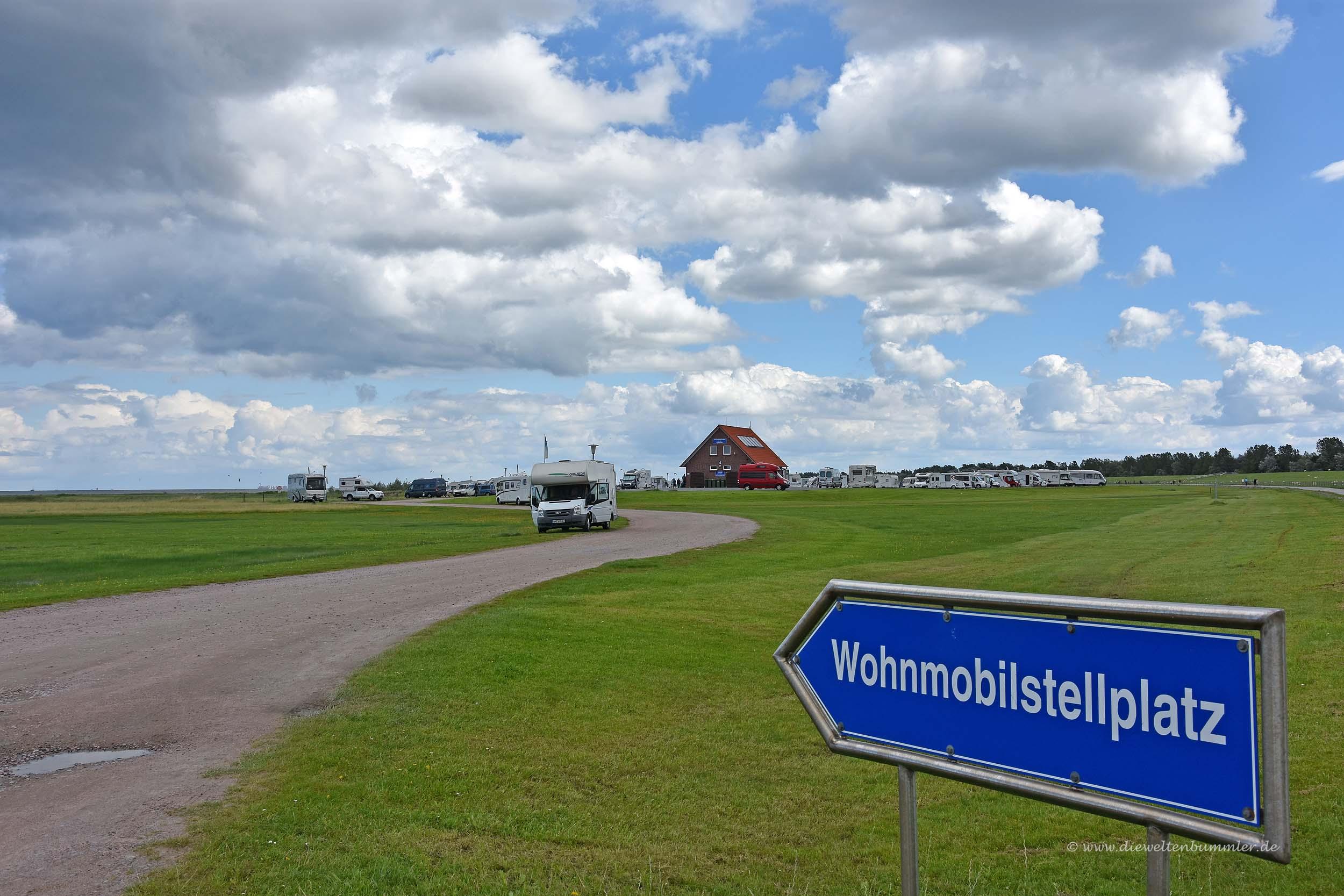Wohnmobilstellplatz in Hooksiel