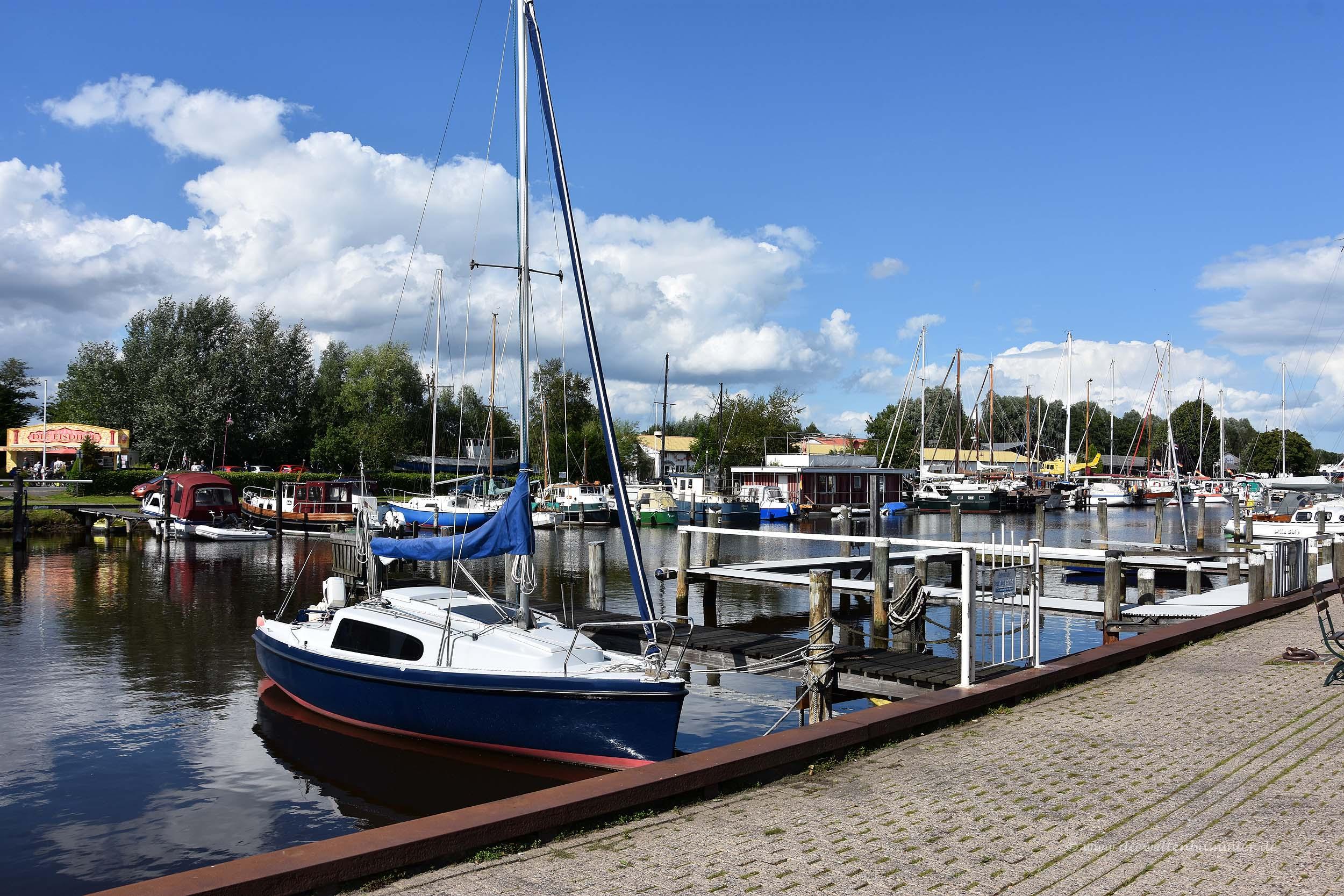 Kleiner Hafen in Varel