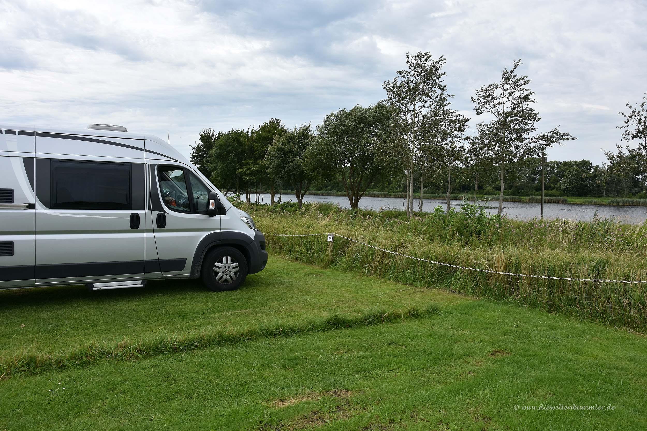 Wohnmobilstellplatz am Nord-Ostsee-Kanal