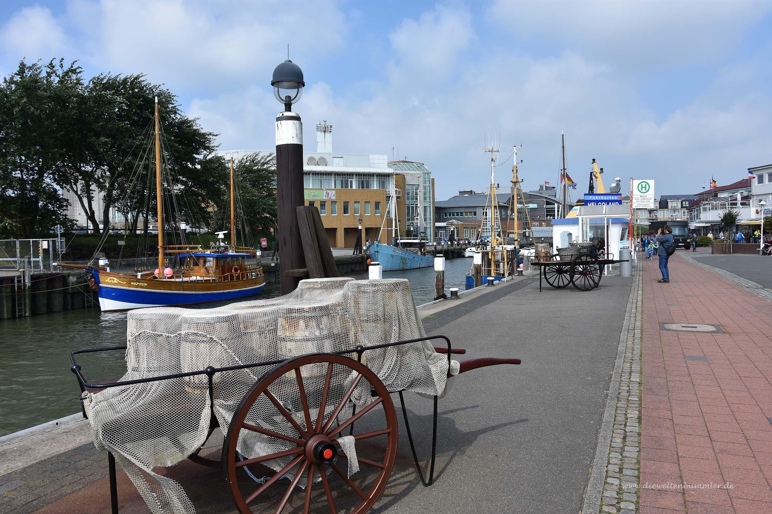 Museumshafen in Büsum