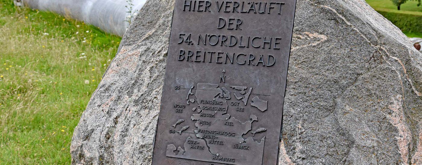 54. Breitengrad