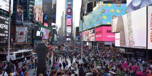 Eindrücke vom Times Square in New York