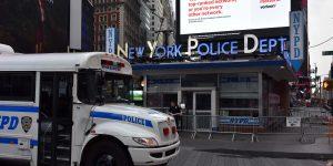 Das NYPD am Times Square